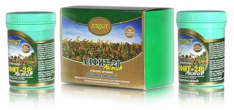 Чай Алфит-Актив № 28 дисбактериозный, 60 бр. (Гален)