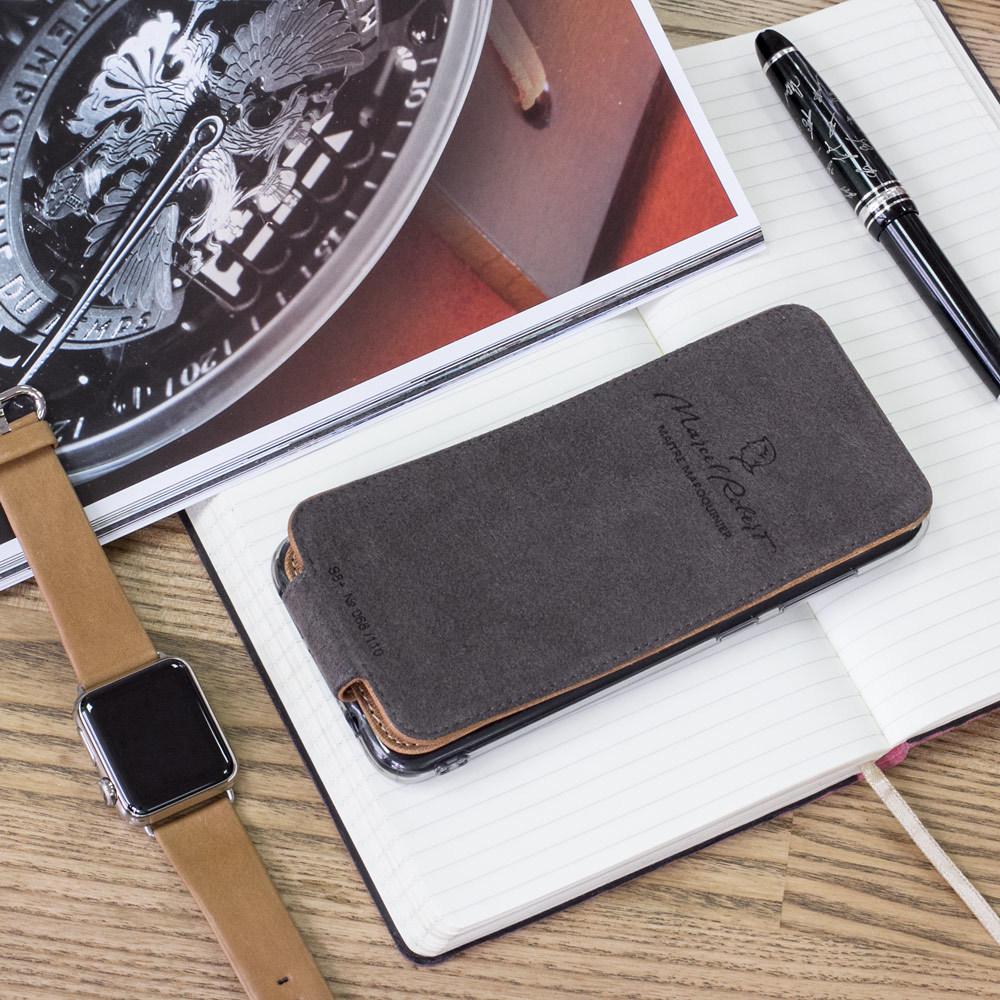 Чехол для Samsung Galaxy S9 Plus из натуральной кожи теленка, цвета винтаж