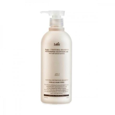La'dor TripleX 3 Natural Shampoo шампунь с натуральными ингредиентами без сульфатов