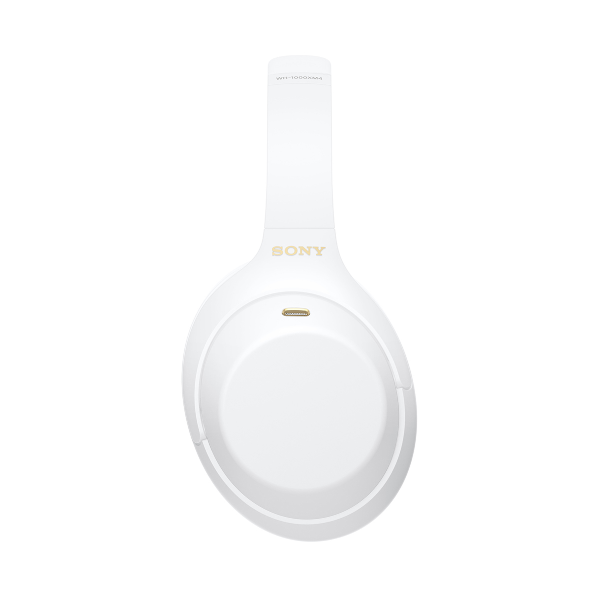 Беспроводные наушники Sony WH-1000XM4W белого цвета с активным шумоподавлением
