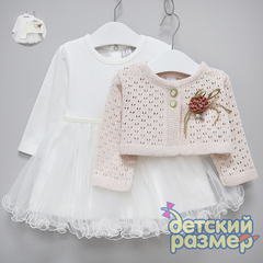 Платье (брошь)