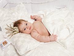 Подушка низкая 40x60 «Baby Butterfly Grass»