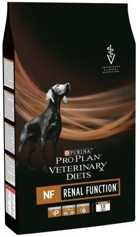 Pro Plan Veterinary Diets NF Renal Function корм для собак при патологии почек