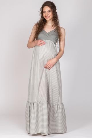 Платье для беременных 10706 хаки