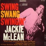 Jackie McLean / Swing, Swang, Swingin' (LP)
