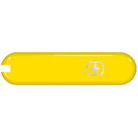 Передняя накладка для ножей Victorinox 58 мм, пластиковая, жёлтая