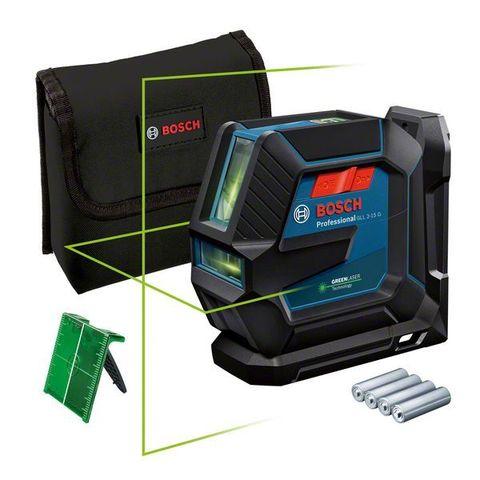 Линейный лазерный нивелир BOSCH GLL 2-15 G