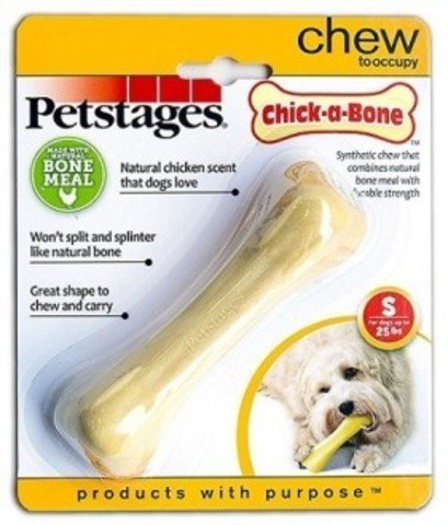 PETSTAGES CHICK-A-BONE WITH THE AROMA OF CHICKEN