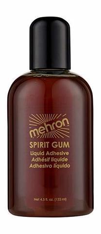 MEHRON Сандарачный клей Spirit Gum, 133 мл