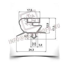Уплотнитель для саладетты Follett SC-140 (размер по пазу). Профиль 018.