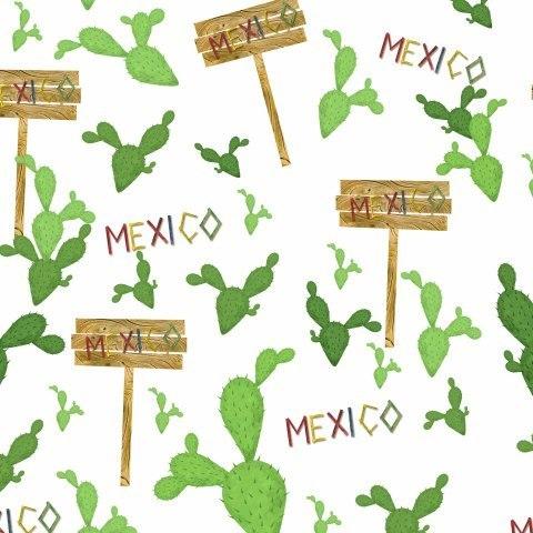 Кактусы в Мексике