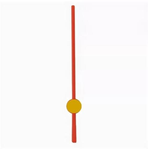 059-9258 Секундная стрелка 5 см (красный)