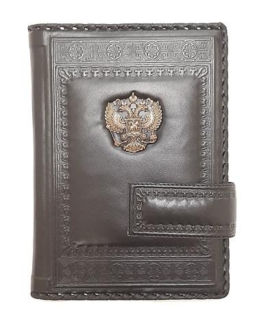 Ежедневник А5 «Империя 5». Цвет коричневый