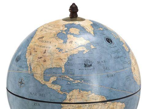 Глобус-бар напольный «Новый свет»