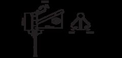 Смеситель Omoikiri Aogashima-SI OAO-BN-SI-35 - схема