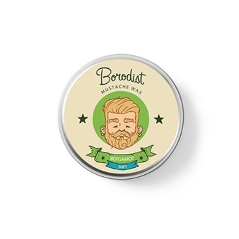 Воск для усов Borodist Bergamot