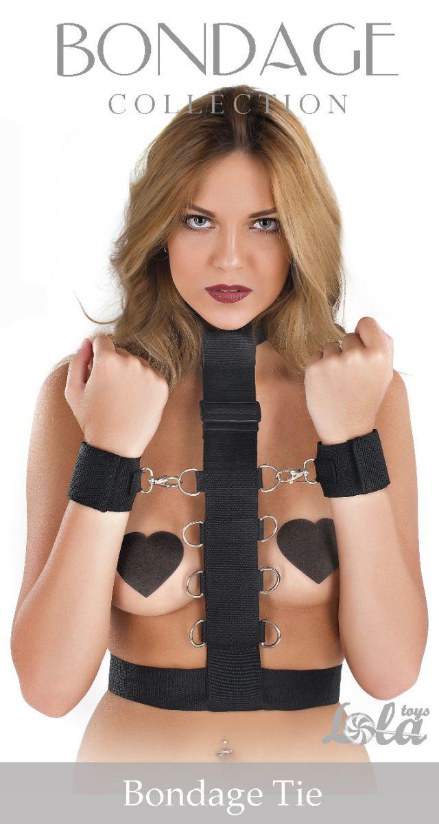 Фиксатор рук к груди Bondage Collection Bondage Tie Plus Size