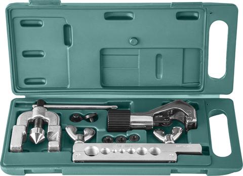 AN040043N Набор для развальцовки трубок, 8 предметов