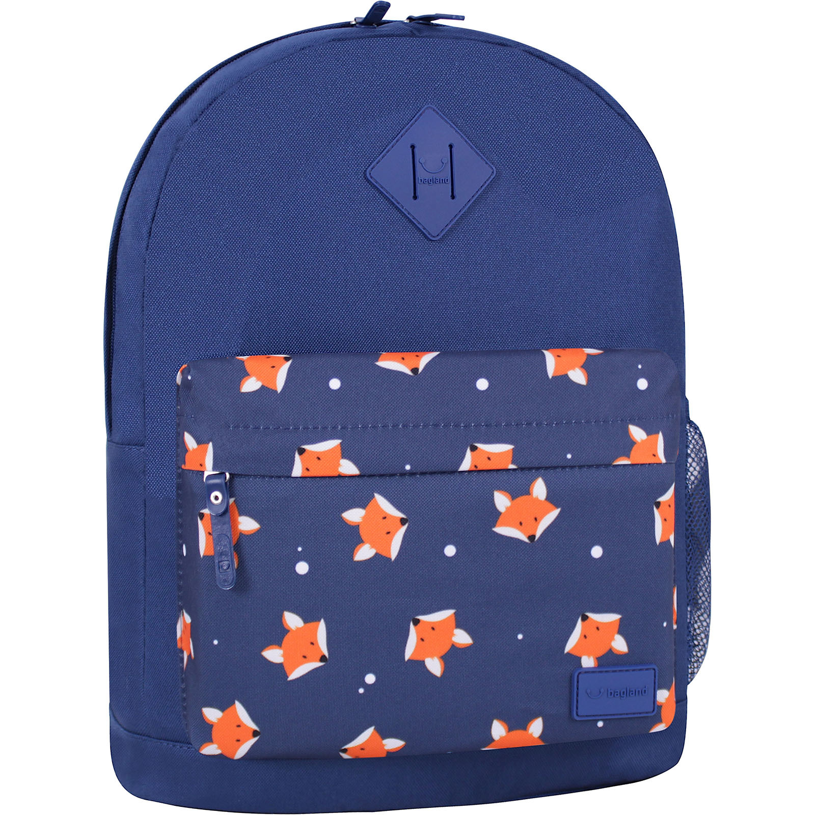 Городские рюкзаки Рюкзак Bagland Молодежный W/R 17 л. Синий 742 (00533662) IMG_6534_суб742_-1600.jpg