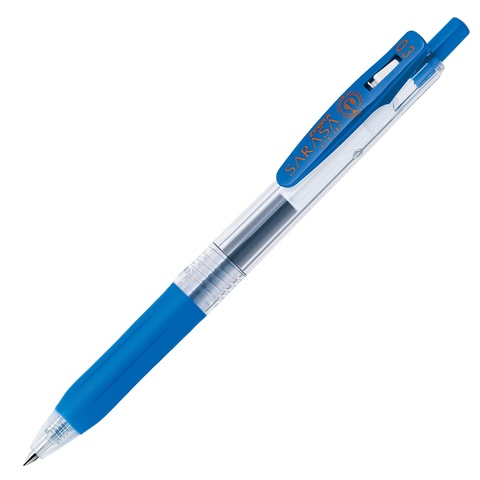 Ручка гелевая Zebra Sarasa Clip 0.3 Cobalt Blue / синяя