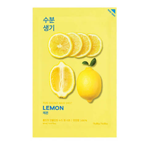 Holika Holika Pure Essence LemonТонизирующая тканевая маска