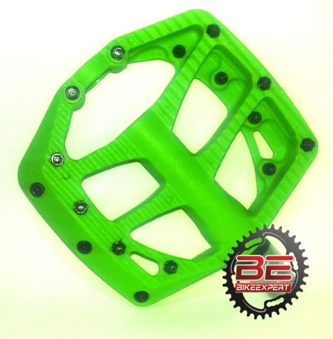 Педали VLX PD42 нейлоновые зеленые