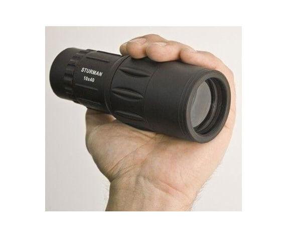 Монокуляр STURMAN 10x40, черный - фото 2