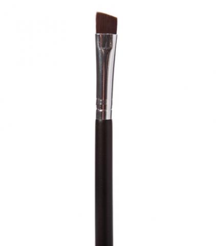 Кисть косметическая для окрашивания ресниц  со скосом-жесткая