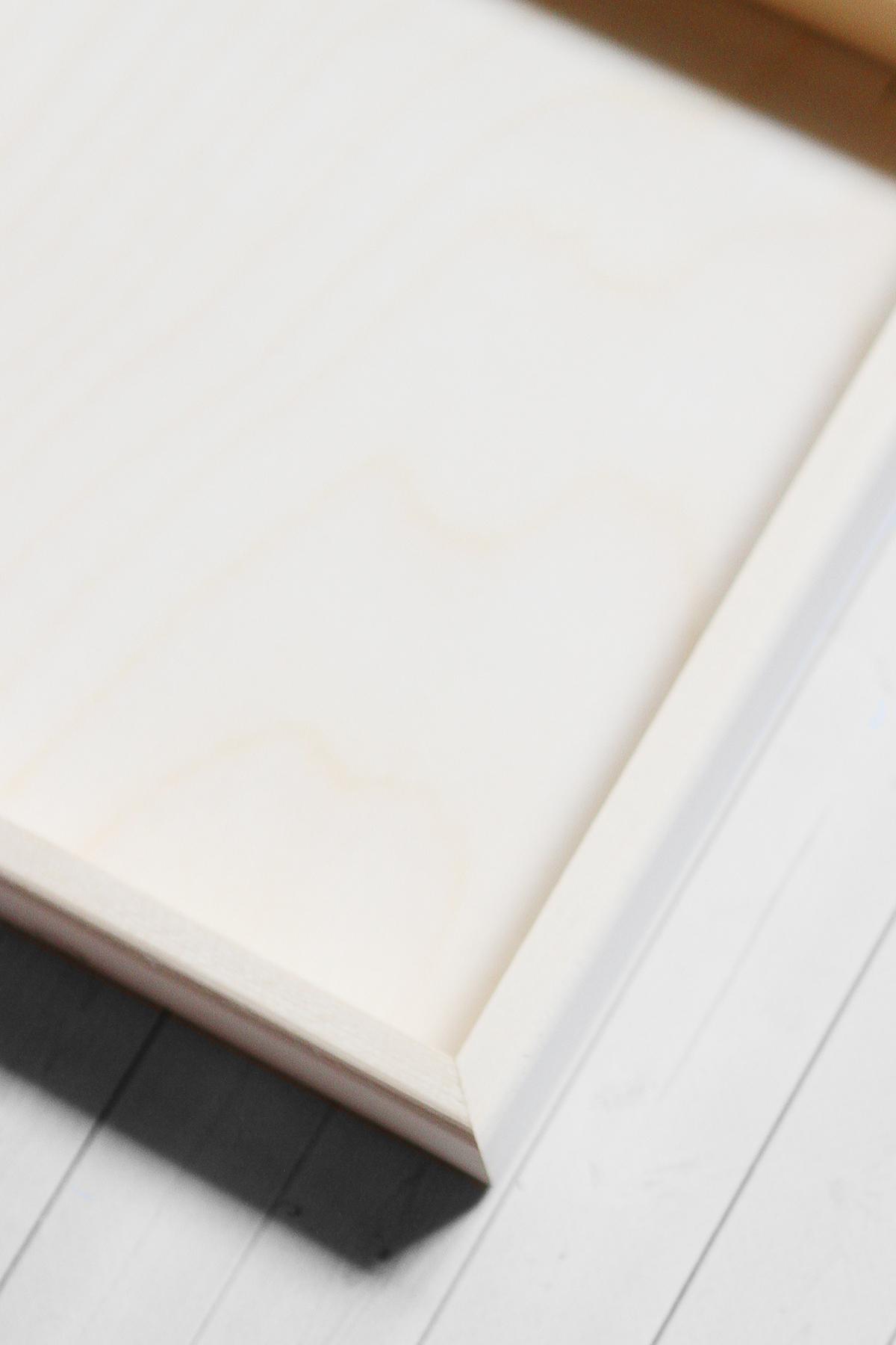 Вудбокс - короб для оформления 20*20*3 см