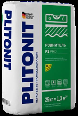 ПЛИТОНИТ Р1 PRO смесь сухая напольная растворная уплотняемая