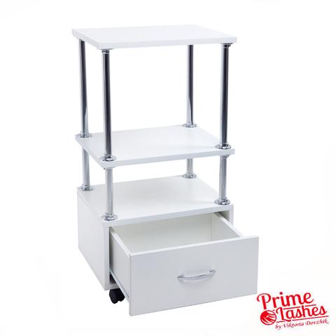 Столик-тележка с ящиком