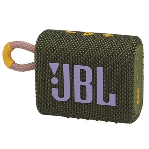 JBL Go 3 Green - колонка портативная зеленая