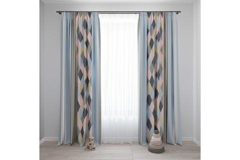 Комплект штор для детской комнаты Scandi