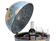 Глобус-бар напольный «Новый свет», фото 2