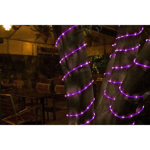 уличный дюралайт на деревья 20 метров фиолетовый цвет купить шланг светодиодный цена