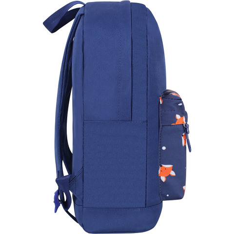 Рюкзак Bagland Молодежный W/R 17 л. Синий 742 (00533662)