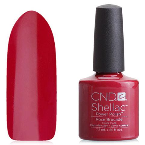 Гель лак CND Shellac Rose Brocade купить за 900руб