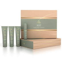 OLLIN keratine royal treatment набор (шампунь 100мл/ бальзам 100мл/ сыворотка 100мл/ блеск 50мл)