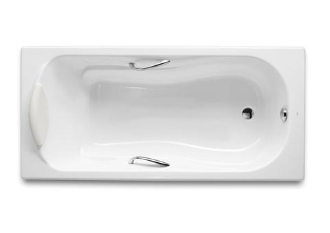 Чугунная ванна Roca Haiti 170х80см. с отверстиями для ручек 23277000R