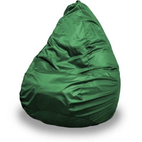 Пуффбери Внешний чехол Кресло-мешок груша  XXXL, Оксфорд Зеленый