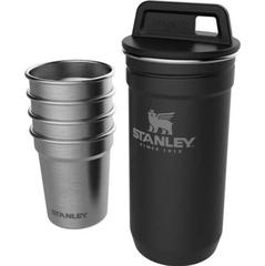 Набор стопок с флягой Stanley Adventure 0,59ML+0,23L Черный (10-01883-035) - 2