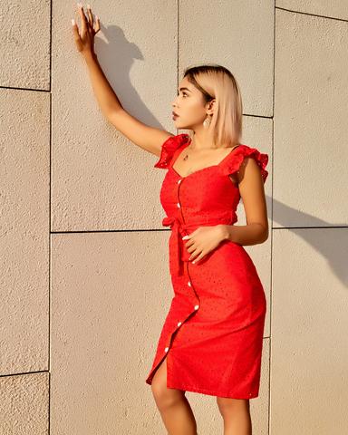 летние платья из батиста nadya