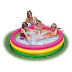 Детский надувной бассейн «Радуга» 147х33
