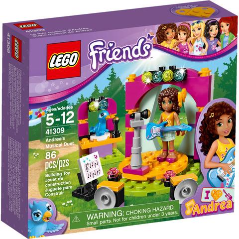 LEGO Friends: Музыкальный дуэт Андреа 41309 — Andrea's Musical Duet — Лего Френдз Друзья Подружки