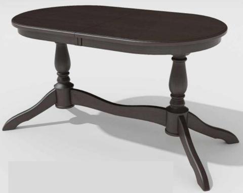 Стол обеденный Романс-21 раскладной овальный палисандр
