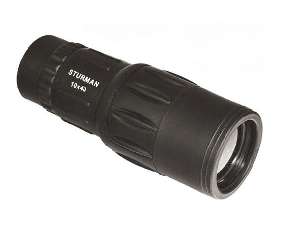 Монокуляр STURMAN 10x40, черный - фото 1