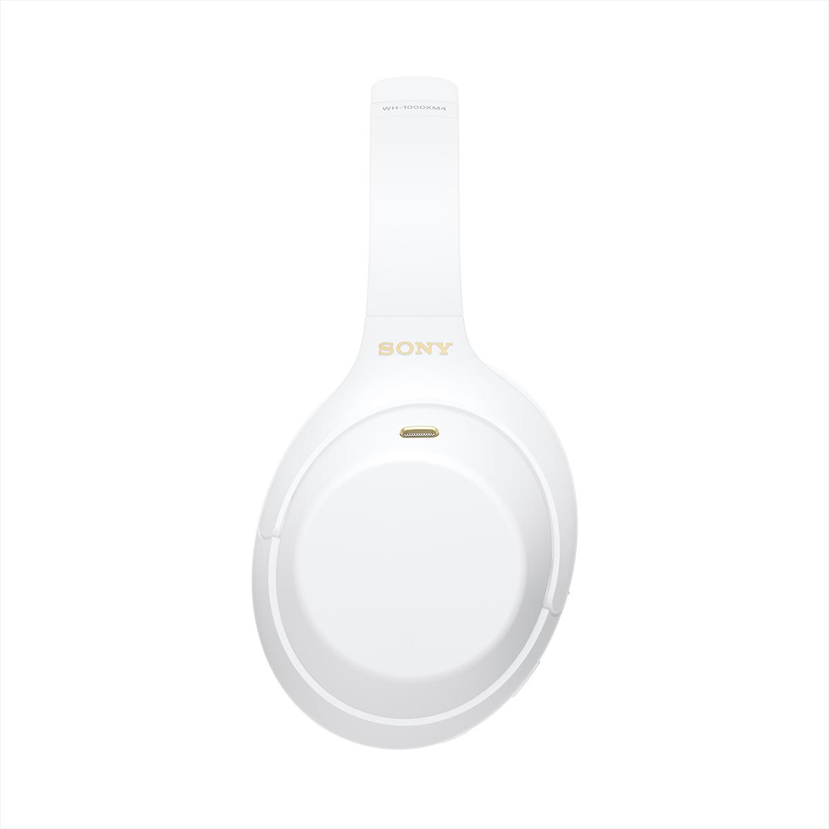 Беспроводные наушники Sony WH1000XM4W белые купить в официальном интернет-магазине