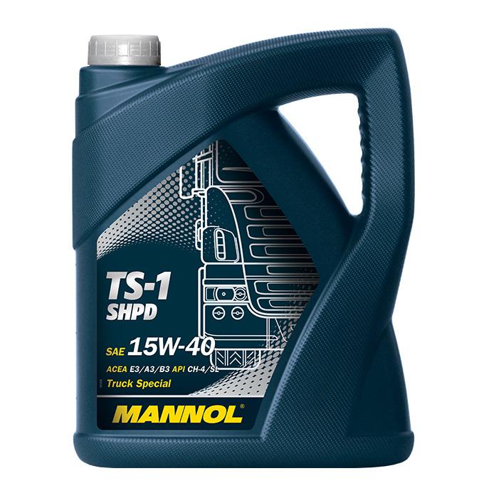 Mannol TS 1 SHPD 15W40  Минеральное моторное масло