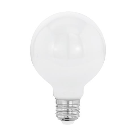 Лампа  LED филаментная из опалового стекла  Eglo MILKY LM-LED-E27 8W 806Lm 2700K G80 11598