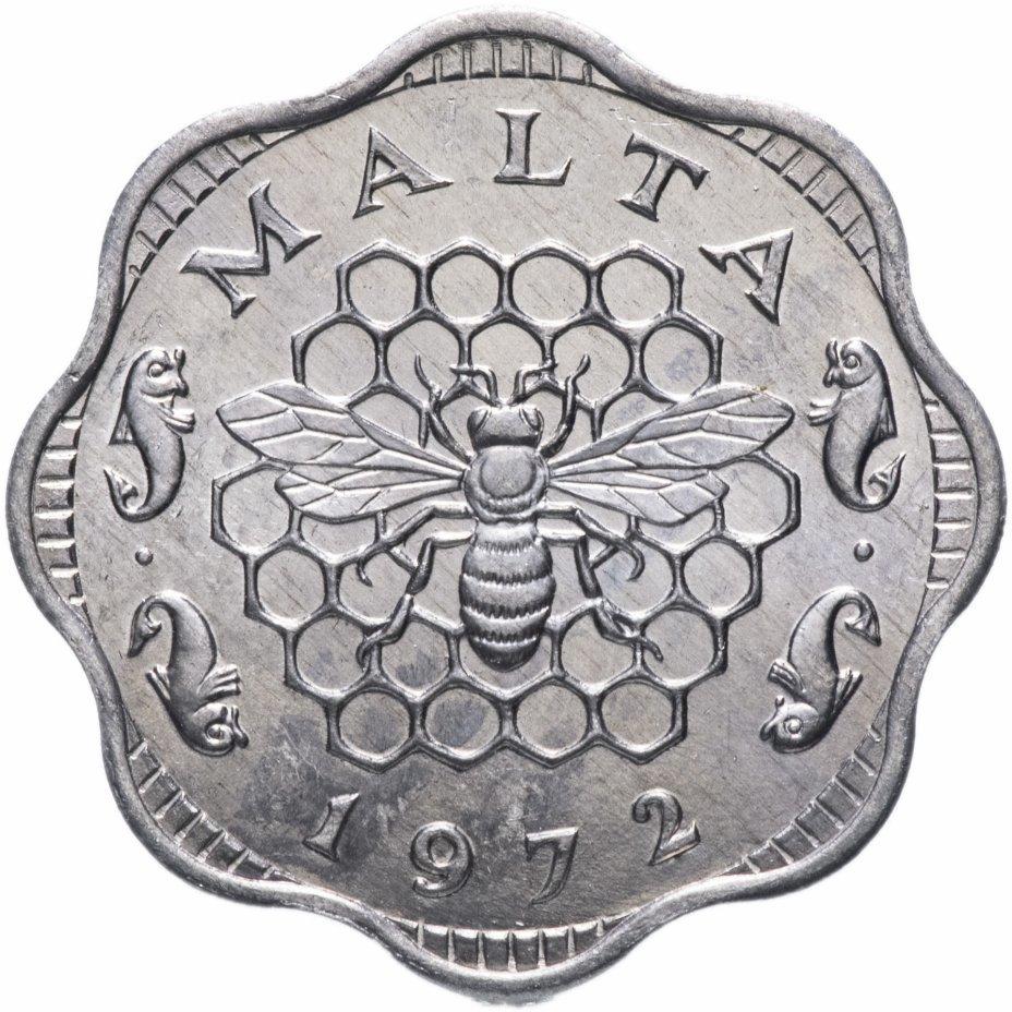 3 милса. Пчела. Мальта. 1972 год. UNC